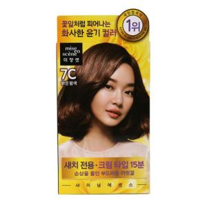 [메가마트] 미장센염모제(밝은밤색)50g