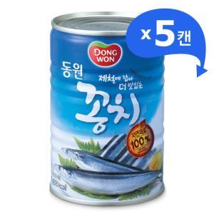 동원 꽁치400g*5캔 -가을꽁치로 보글보글 찌개~