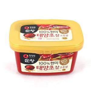 [메가마트] 청정원 순창 100%현미 태양초 찰고추장 2kg