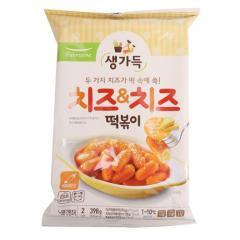 [메가마트] 풀무원 바로조리 치즈떡볶이 398g