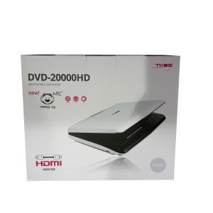 [코스트코] TKDS 휴대용 DVD 플레이어 DVD10900D(옵션선택)