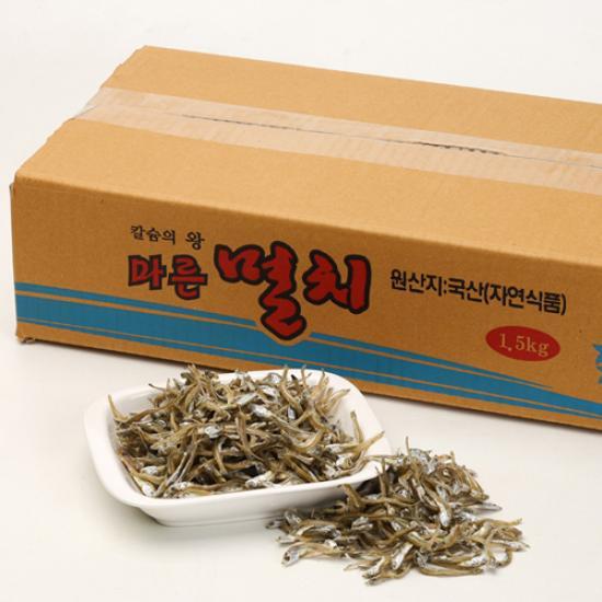 [바다원]소멸 (가이리, 볶음/조림용) 1.5kg 원물박스
