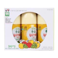 [메가마트] 남양 유기농 베이비 주스 종합과일 120ml*3개