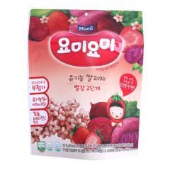 [메가마트] 요미요미 유기농쌀과자 빨강 12개월 25g