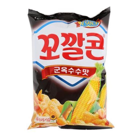 [메가마트] 롯데 꼬깔콘 군옥수수맛 155g