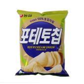 [메가마트] 농심 칩포테토 사워크림 어니언 125g