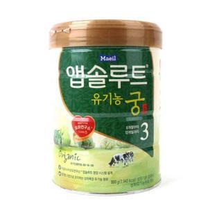 [메가마트] 매일)앱솔루트 유기농 궁 3단계 800g