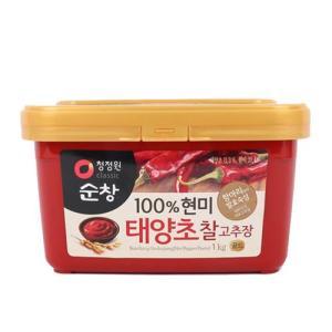 [메가마트] 대상)우리쌀고추장1kg