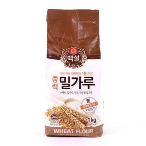 [메가마트] CJ)중력밀가루1kg