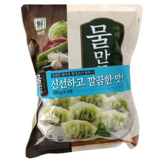 [메가마트] 대림선 야채 듬뿍 물만두 300g*3
