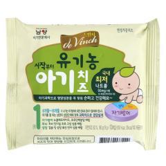 [메가마트] 남양 드빈치 유기농 아기치즈 1단계 180g