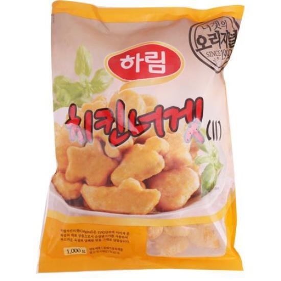 [메가마트] 하림 치킨너겟 1kg