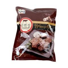 [메가마트] 모닝하임 임꺽정 양송이 버섯 떡갈비 1kg