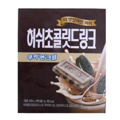 [메가마트] 매일 허쉬초콜릿드링크 쿠키앤크림 230g*4개