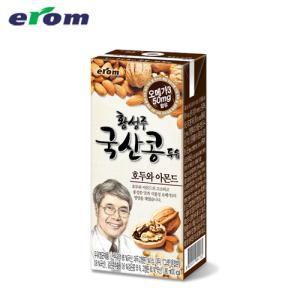 ★단독구성★ [이롬황성주] 국산콩으로 만든 호두와아몬드 두유 20팩
