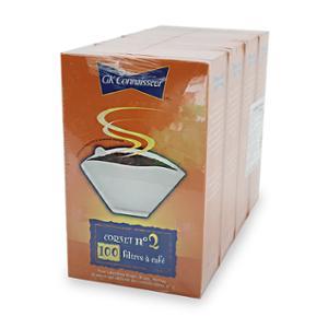 [코스트코] GUSTIN KRAMER 콘스타일 커피 필터 100장X4팩
