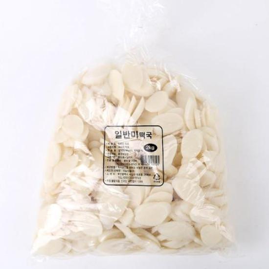 [메가마트] 미농 일반미 떡국(국내산) 2kg