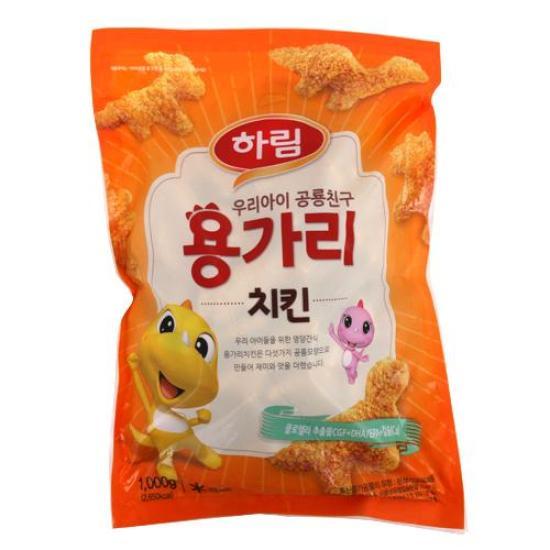 [메가마트] 하림 용가리치킨 1kg / 치킨너겟