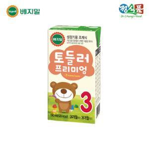 ★브랜드특가★ [정식품] 프리미엄 베지밀 토들러 3단계 190ml×96팩