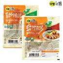 [다향사계절 맛있는 닭] 닭가슴살 슬라이스 200g*10팩 (순한맛/매운맛 택1)