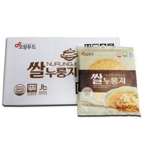 오성제과 김제평야 쌀누룽지 150gX20봉 / 국내산 쌀로 만든 고소한 누룽지