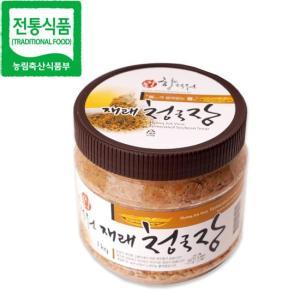 [전통식품 품질인증관] 순창향적원 재래청국장 1kg