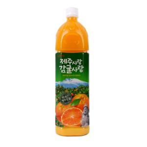 [메가마트] 롯데 제주사랑 감귤 1.5L / 인당최대구매수량 6개