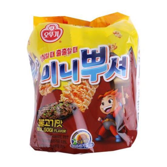 [메가마트] 오뚜기 미니뿌셔 불고기맛 55g*4개