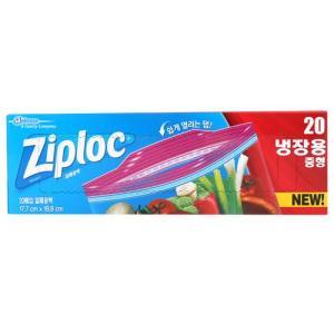 [메가마트] 더블지퍼백냉장(중)중*20매