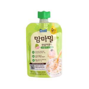 [메가마트] 맘마밀)안심이유식 브로콜리닭가슴살 9개월100g