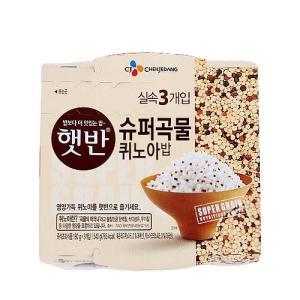 [메가마트] 햇반 슈퍼곡물 퀴노아밥180g*3개