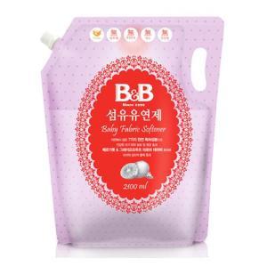 [메가마트] B&B_섬유유연제리필(베르가못)2.1L