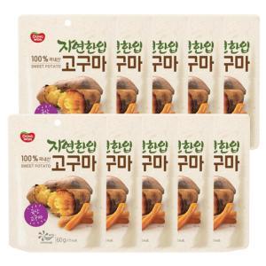 [동원] 자연한입 고구마 60g*10봉 / 고구마말랭이