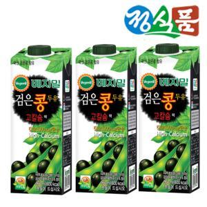 [정식품] 검은콩 두유 고칼슘 베지밀 950mlx12팩