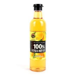 [메가마트] CJ)100%자연발효레몬식초800ml