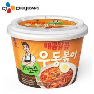 [CJ][냉장] 밀당의고수 매콤달콤 우동볶이 252g