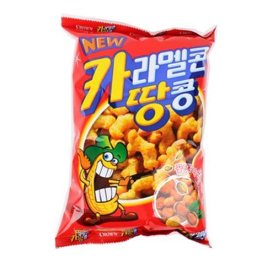[메가마트] 크라운 카라멜과땅콩 170g