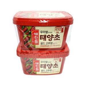 [코스트코] 해찬들 우리쌀 태양초 고추장 1.8KG x 2
