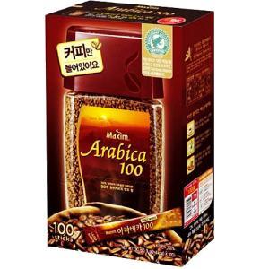 맥심 아라비카 솔루블 100T (커피만)