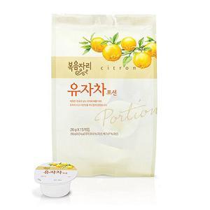 ♥시즌대박세일♥ 복음자리 유자차포션 390g (26g×15개입)