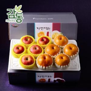 [H]혼합과일 사과 5개 + 배 5개 4kg 실속