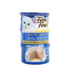 [메가마트] 팬시피스트 생선+참치 애완용 85g*3개