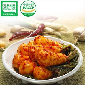 영주식품 총각김치 3kg / 어머니의 정성을 담은 봄나리김치