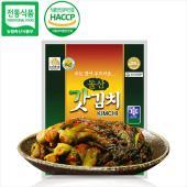 여수농협 돌산갓김치 3kg / 감칠맛 나는 돌산 갓김치