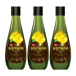 [동원] 카놀라유 500ml*3개