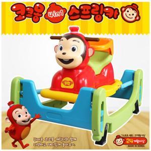코코몽 4in1 스프링카 A Type (승용완구, 점프, 붕붕카, 시소, 아동용자동차, 다기능완구)