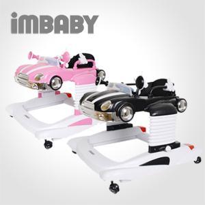IMBABY 3in1 자동차보행기(핑크/블랙) 보행기, 아가 식탁, 걸음마, 점핑, 쏘서, 멀티기능 승용완구