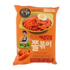 [메가마트] CJ 밀당의고수 매콤달콤 쫄볶이 470g