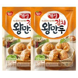 [동원] 개성김치왕만두 1.82kg 지퍼백x2봉