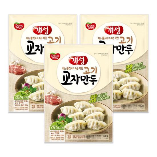 [동원] 개성교자만두고기 600gx3봉